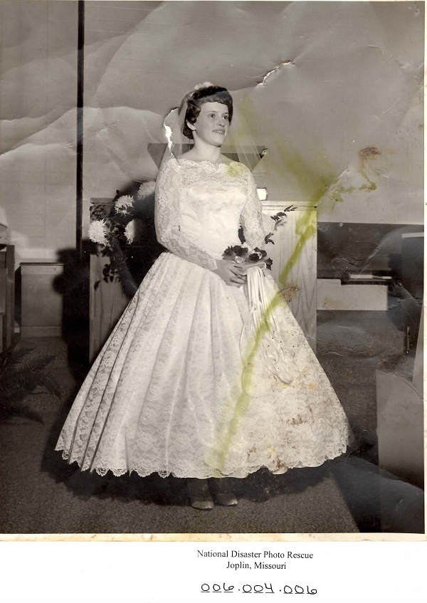 Lost Photo of the Day: 1950's Bride