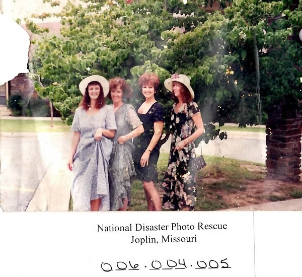 Lost Photo of the Day: 4 Ladies in Dresses